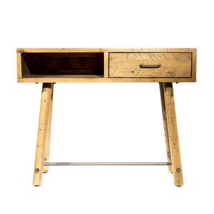 Uma Console with Drawer comes in a natural finish with a country style and is available from roomshaped.co.uk