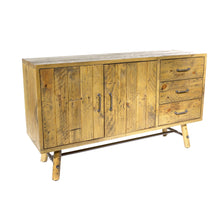 Load image into Gallery viewer, Uma Large Sideboard comes in a natural finish with a country style and is available from roomshaped.co.uk