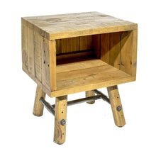 Load image into Gallery viewer, Uma Side Table comes in a natural finish with a country style and is available from roomshaped.co.uk