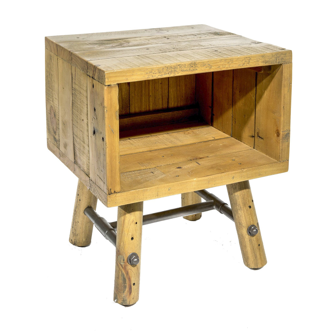 Uma Side Table comes in a natural finish with a country style and is available from roomshaped.co.uk