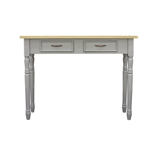 Verity Dressing Table comes in grey with a country style and is available from roomshaped.co.uk