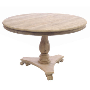 Sari Dining Table comes in an oak finish with a retro classic style and is available from roomshaped.co.uk