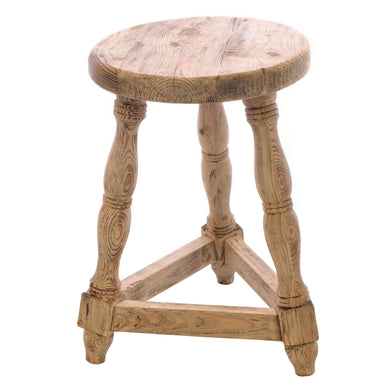 Stanley Stool comes in an oak finish with a retro classic style and is available from roomshaped.co.uk