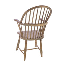 Load image into Gallery viewer, Jolanta Windsor Chair comes in an oak finish with a retro classic style and is available from roomshaped.co.uk