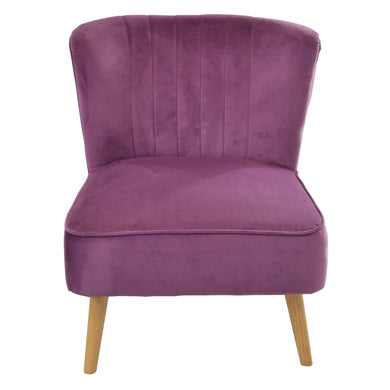Farel Chair comes in pink with a luxe style and is available from roomshaped.co.uk