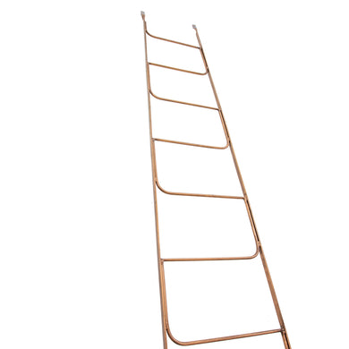 Zeta Copper Display Rack comes in a copper finish with a luxe style and is available from roomshaped.co.uk