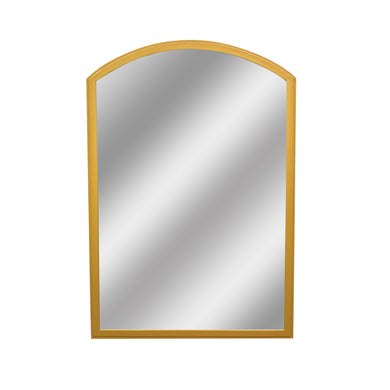 Zeta Mirror comes in a gold finish with a luxe style and is available from roomshaped.co.uk