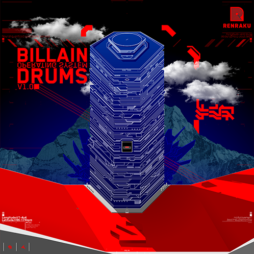 Renraku Global Sample Pack Cover - Billain Operating System: Drums
