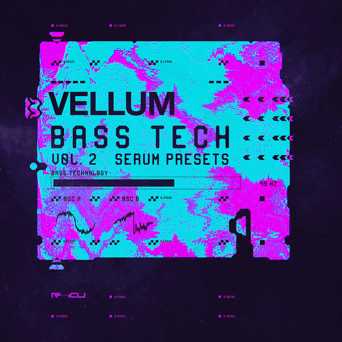 Vellum - Bass Technology 2 - Serum Presets