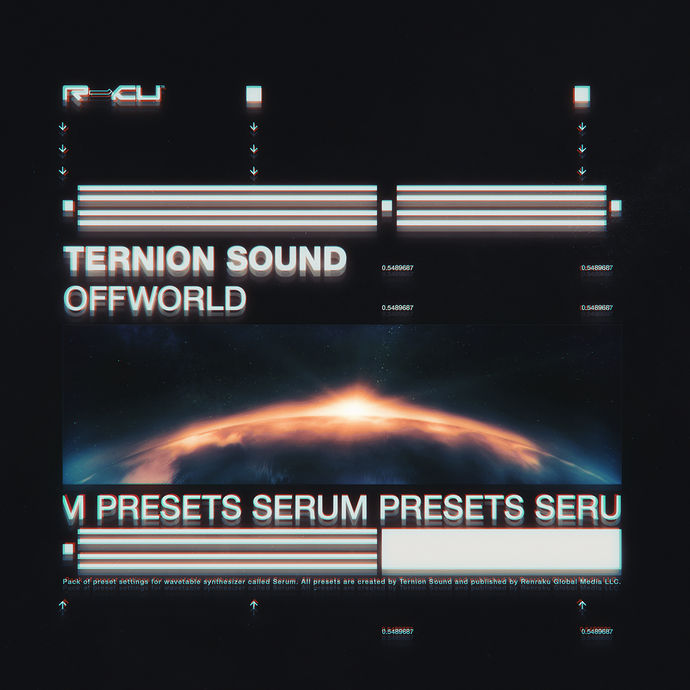 Renraku Global Serum Preset Cover - Ternion Sound - Offworld