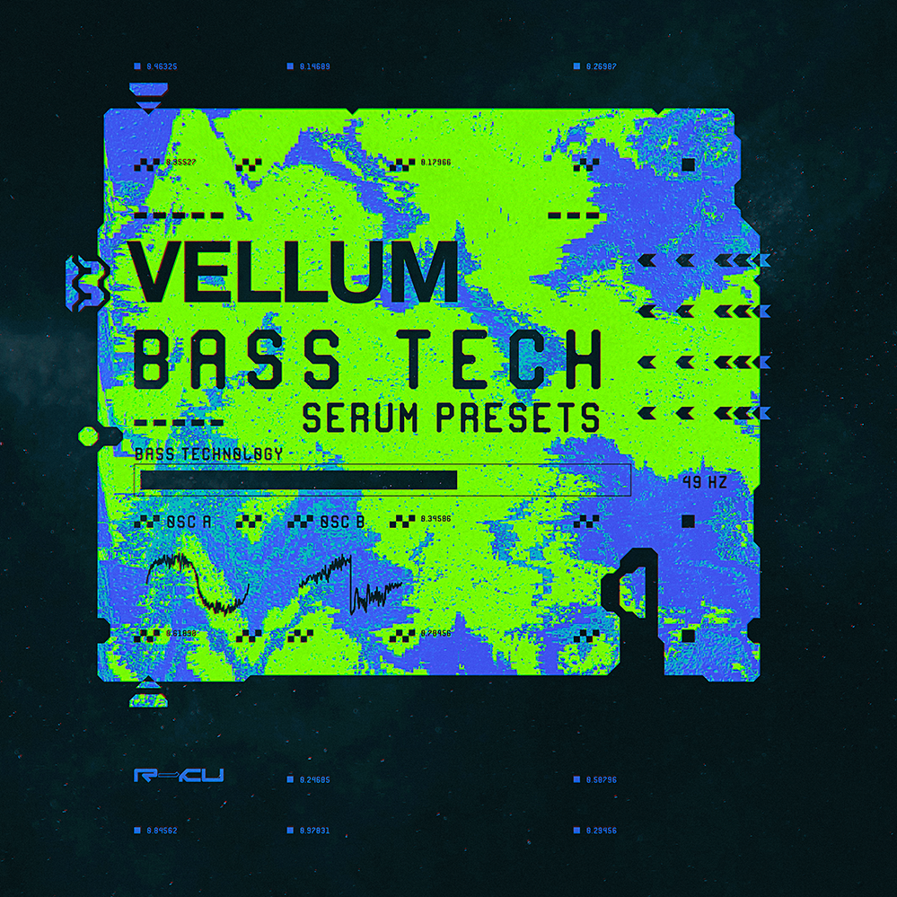 Renraku Global Serum Preset Pack Cover -Vellum - Bass Technology