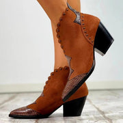 Bottines Retro Feminines Minute Mode