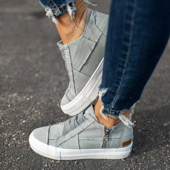Chaussures Féminines Daily Minute Mode Gris 34