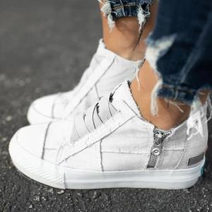 Chaussures Féminines Daily Minute Mode Blanc 34