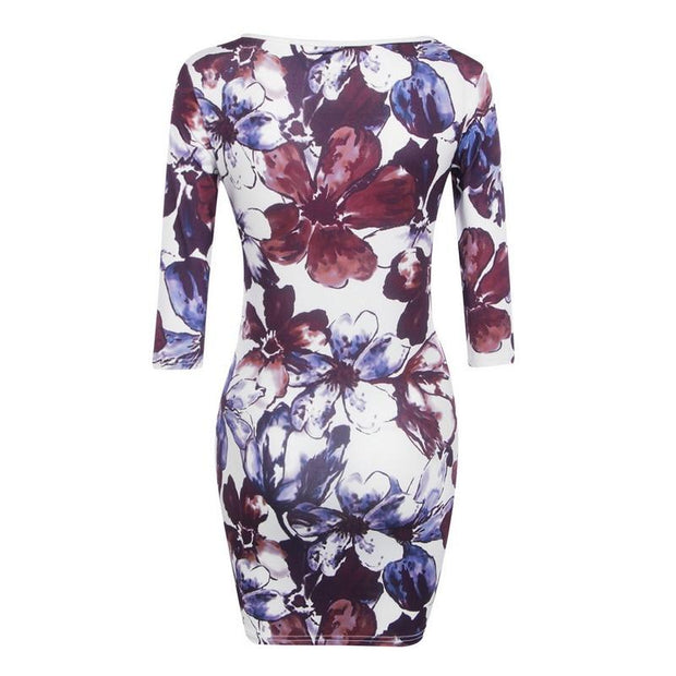 Superbe Robe Florale Minute Mode