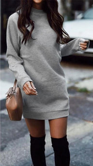 Robe Pull Casual Minute Mode Gris S
