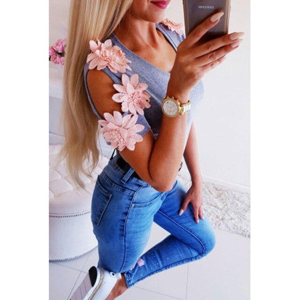 product image 988137358 grande Blouse Manches Fleuries
