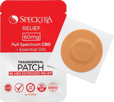 specktra cbd patch for athletes