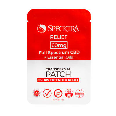 Patch | Relief | 60mg CBD - Box of 12-PATCH-Specktra