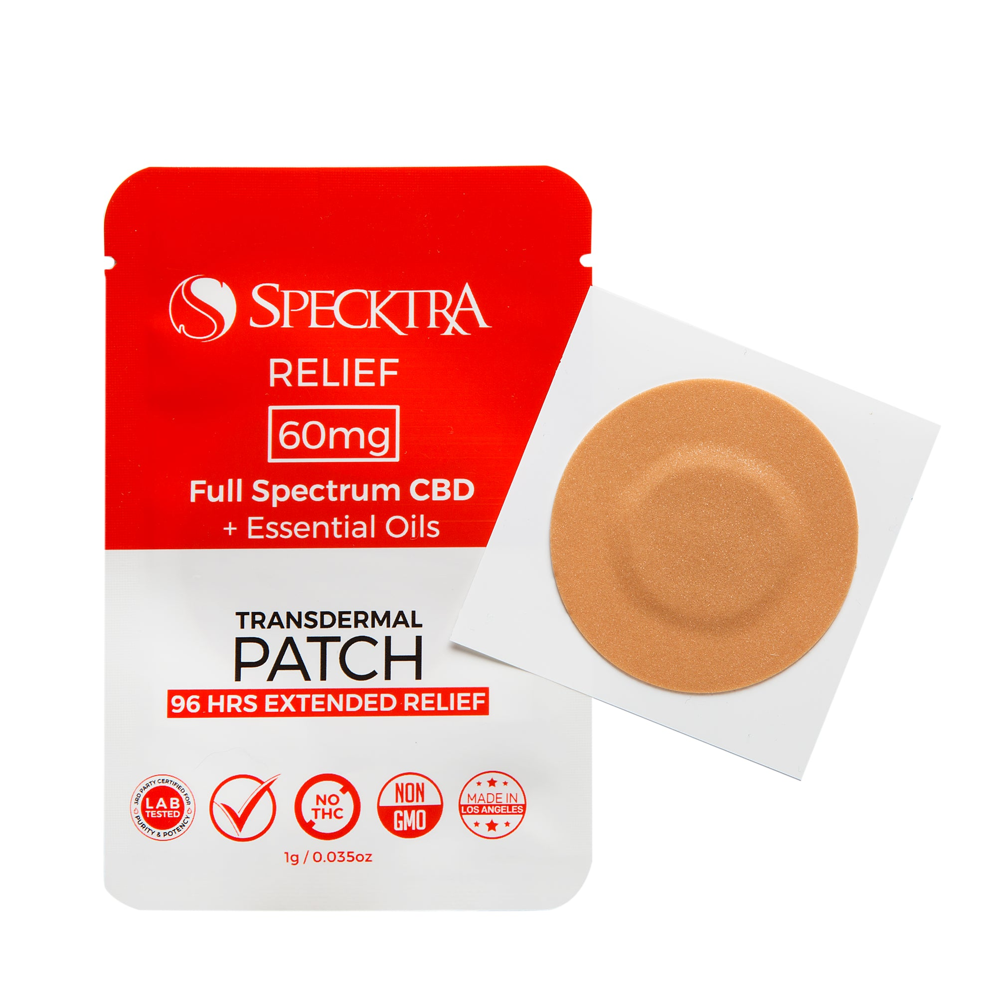 Patch | Relief | 60mg CBD  -  Box of 12