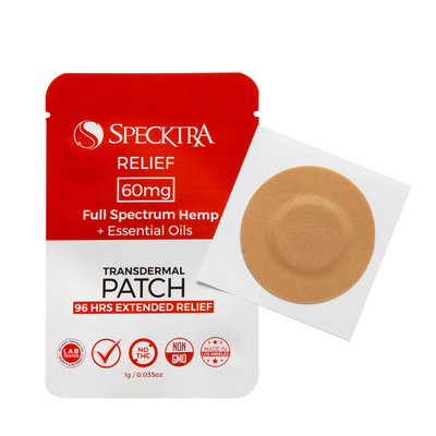 96-Hour Relief Patch | 60mg HEMP
