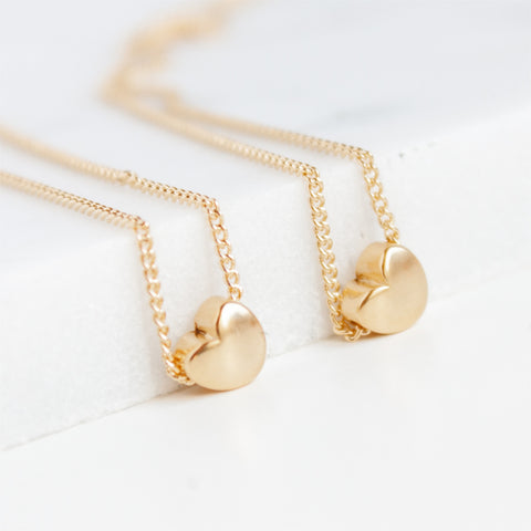 Miandu Meaninfgul Heart Necklace Sets