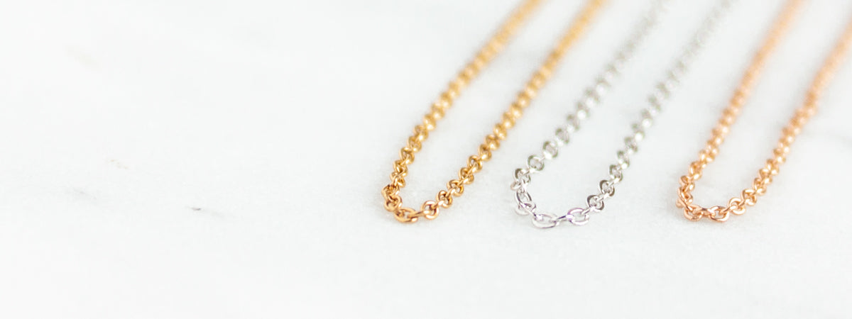 Miandu Jewelry Options Upgrade Gold Filled Sterling Silver or Rose Gold Filled