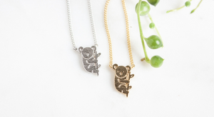 Miandu Koala Necklace I miss you for friend