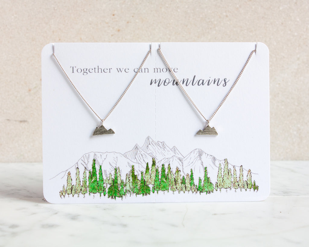 Mountain Necklace Set