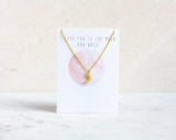 Moon Necklace - Gold or Silver