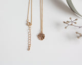 Tiny Monstera Leaf Necklace - Gold, Rose Gold or Silver