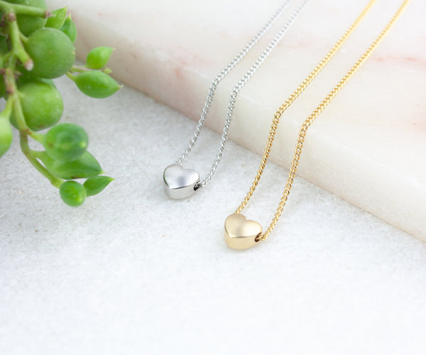 Heart Necklace Set