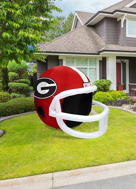 GEORGIA BULLDOGS INFLATABLE LAWN HELMET