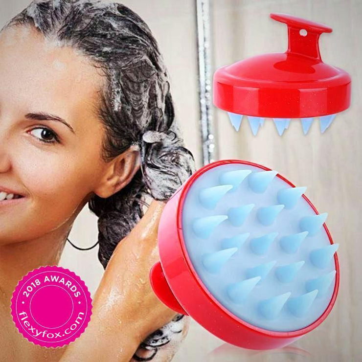 3-in-1 Scalp Massage LUSH Shampoo Brush