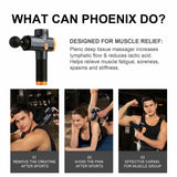 Phoenix A2 Muscle Massage Gun Deep Tissue Massager