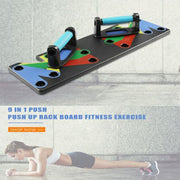 9 in 1 Body Building Rack Board