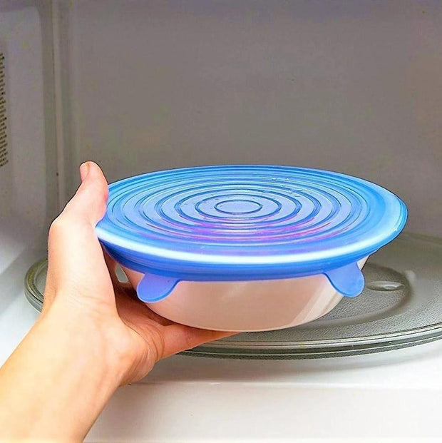 Stretchable Food Silicone Lid