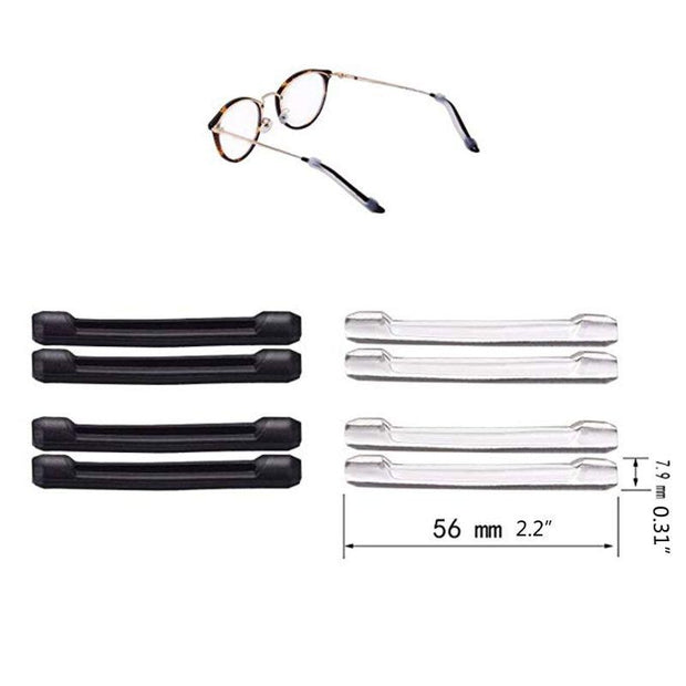 Anti-Slip Round Comfort Glasses Retainers 16 pcs