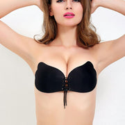 Backless Strapless Push Up Lift Bra