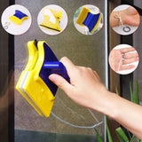 Magnetic Double-Sided Window Cleaner Brush