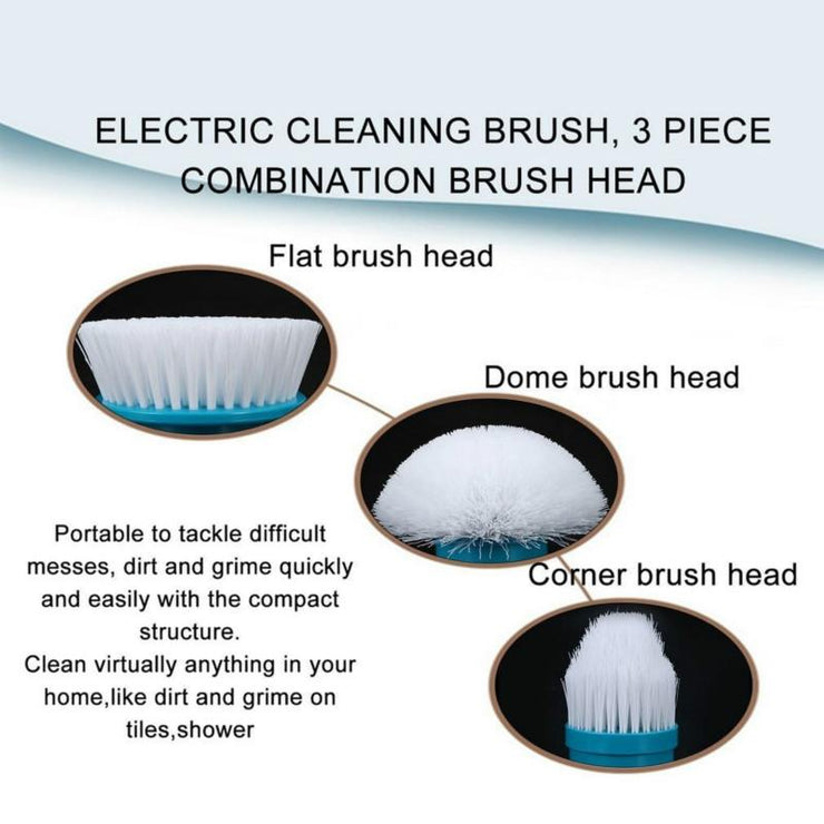 Wireless Brush Cleaning Scrubber