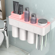 Bathroom Drill-Free Toiletry Storage Set
