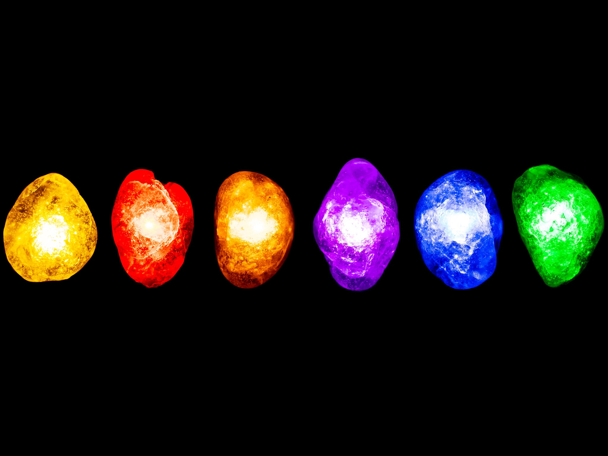 [pic of finished infinity stones]