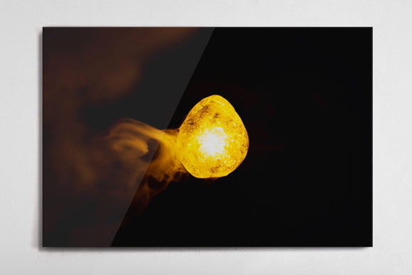 Mind - Infinity Stone Poster - Style 3 - Metal Print