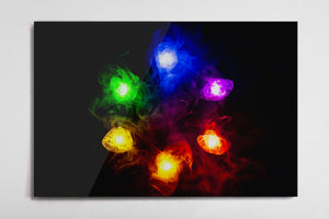 Infinity Stones Poster - Style 2 - Metal Print