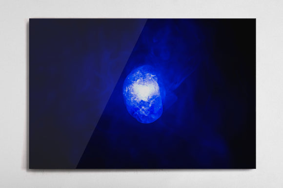 Space - Infinity Stone Poster - Style 3 - Metal Print