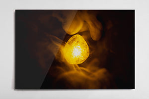Mind - Infinity Stone Poster - Style 2 - Metal Print