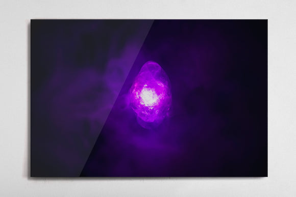 Power - Infinity Stone Poster - Style 3 - Metal Print