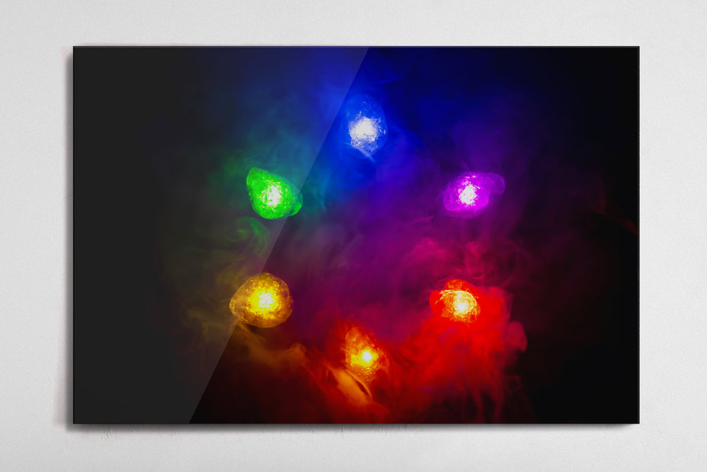 Infinity Stones Poster - Style 4 - Metal Print