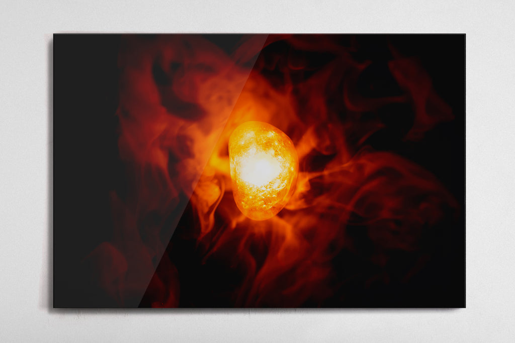 Soul - Infinity Stone Poster - Style 3 - Metal Print